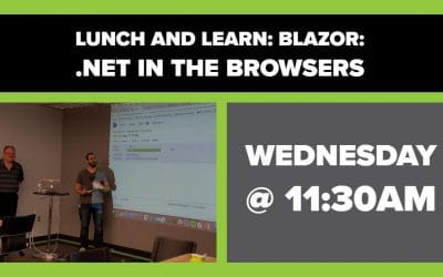 Blazor: .Net in the Browsers