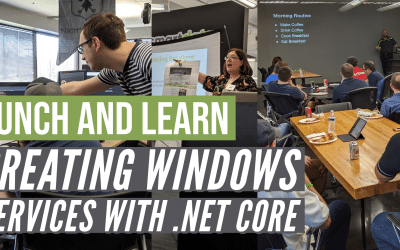 Creating Windows Services with .NET Core